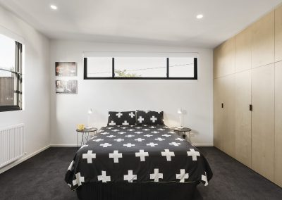 Prahran residence bedroom 1