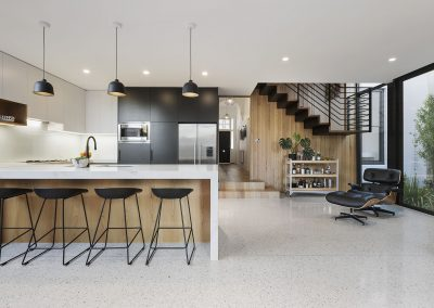 Prahran residence kitchen 2