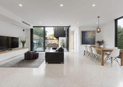 Prahran residence lounge 1