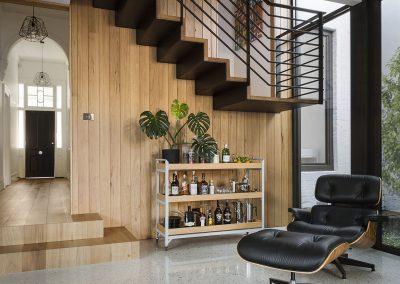 Prahran residence sitting area